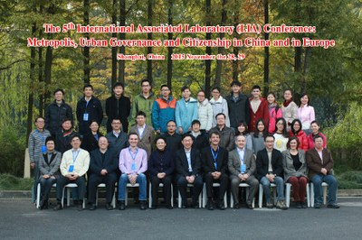 5th LIA Conference - group photo -Shanghai University 2015 filtre
